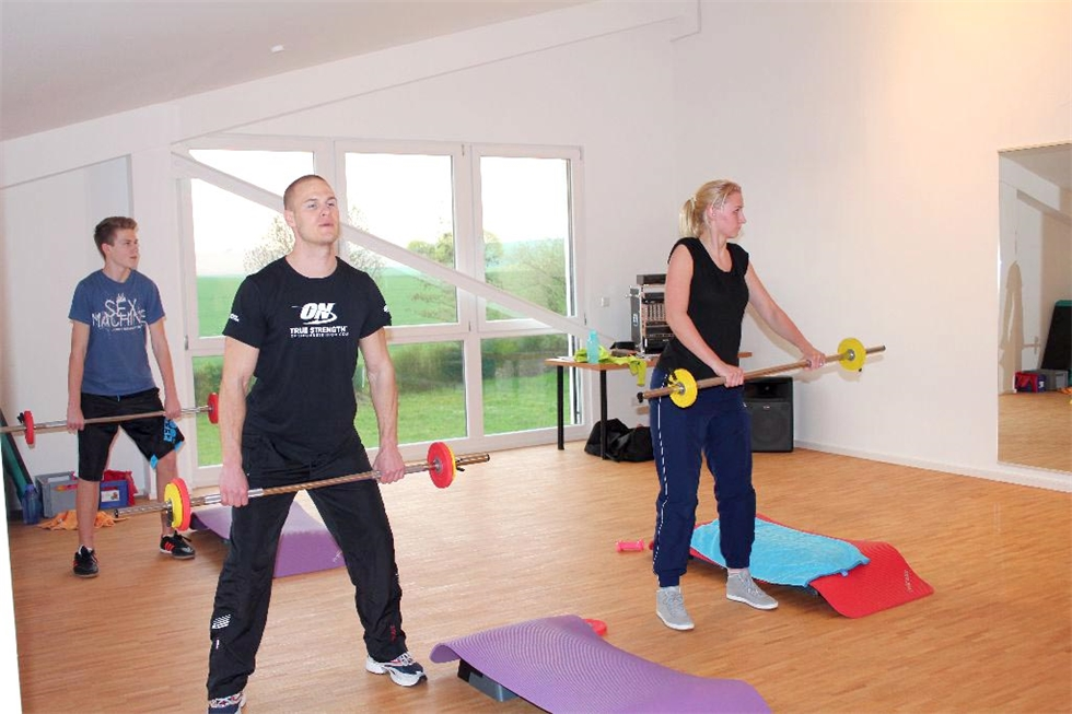 Power Dumbbell mit Renate