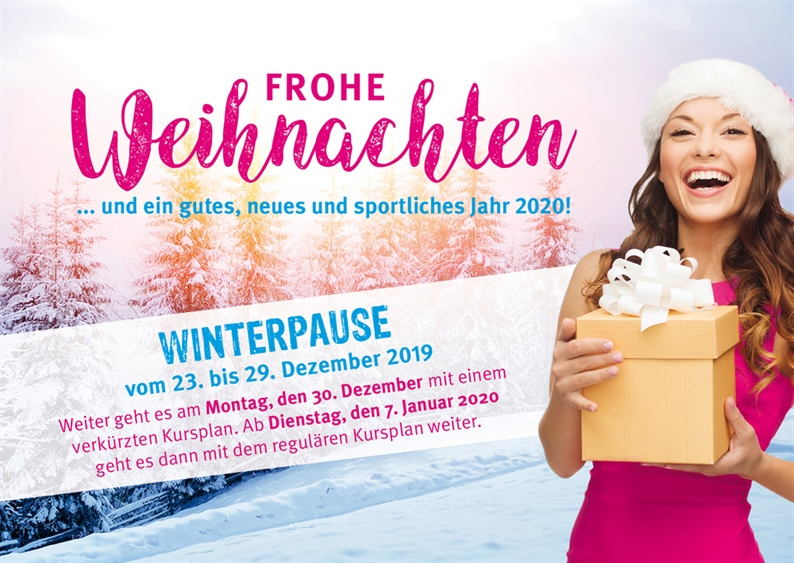 Winterpause 2019 im Sportcenter Oedheim