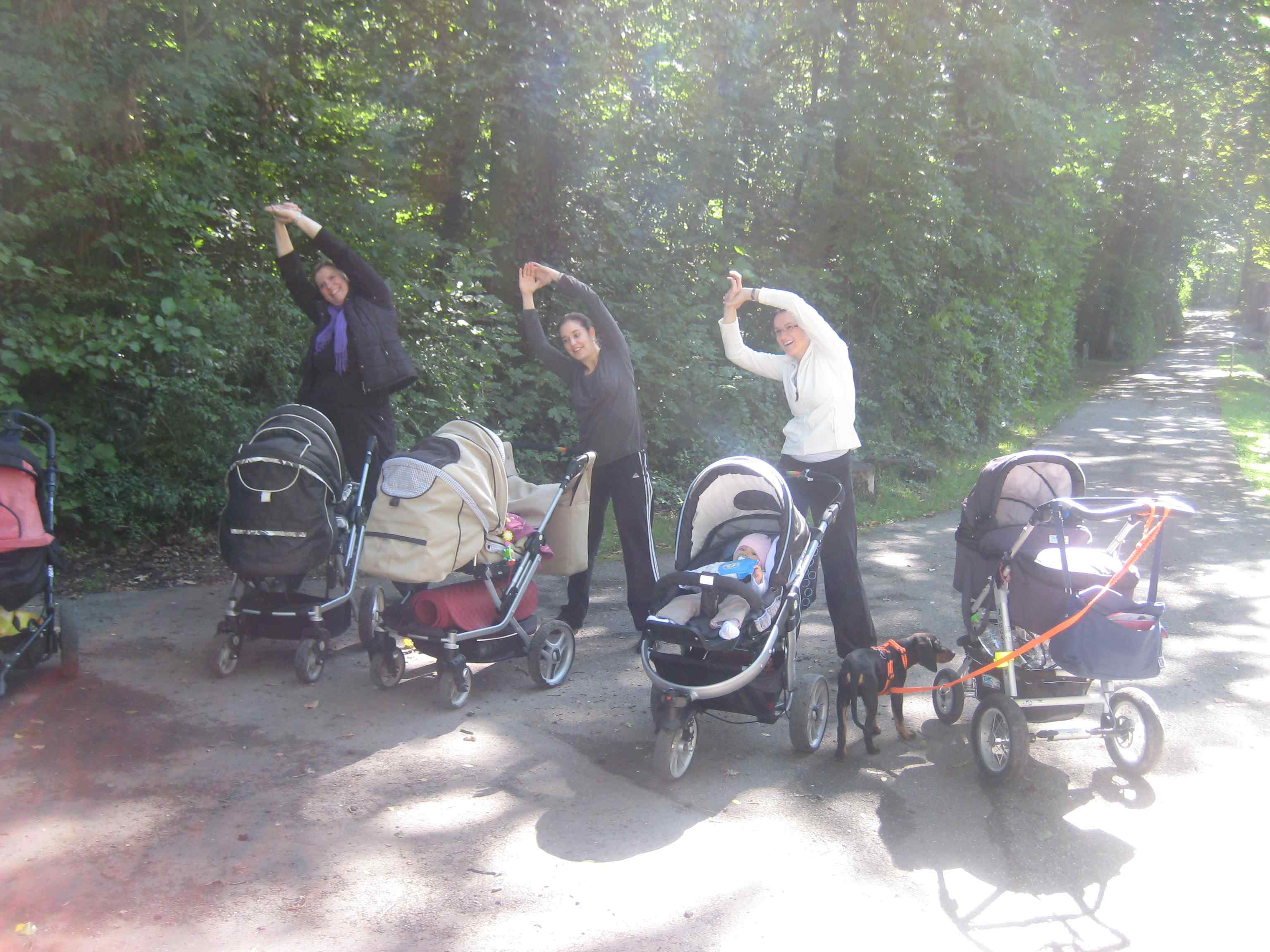 Mamif-Fit Outdoor mit Kinderwagen in Jagstfeld - Sportcenter Oedheim